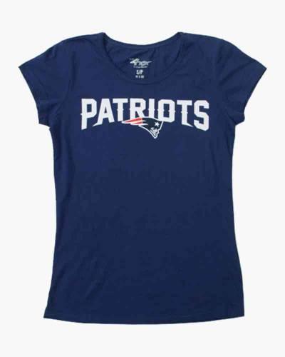 New England Patriots Women's Cap Sleeve Tee
