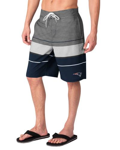Men's New England Patriots Swim Trunks