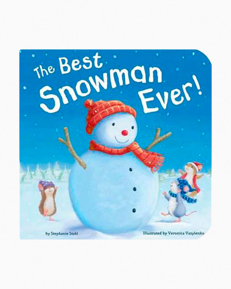 Veronica Vasylenko Best Snowman Ever (Board Book)