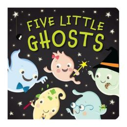 Patricia Hegarty Five Little Ghosts (Board Book)
