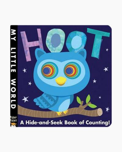 Hoot: A Hide-and-Seek Book of Counting! Board Book