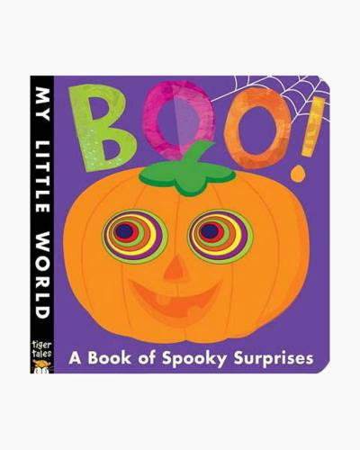 Boo!: A Book of Spooky Surprises (Hardcover)