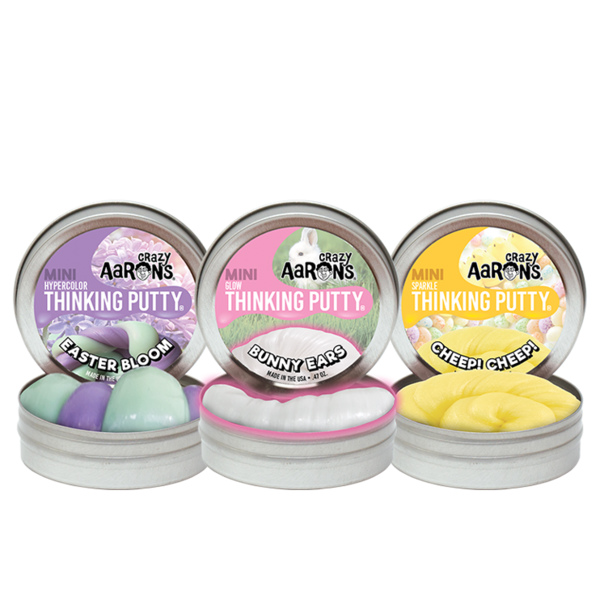 Crazy Aaron Mini Easter Thinking Putty (Assorted)