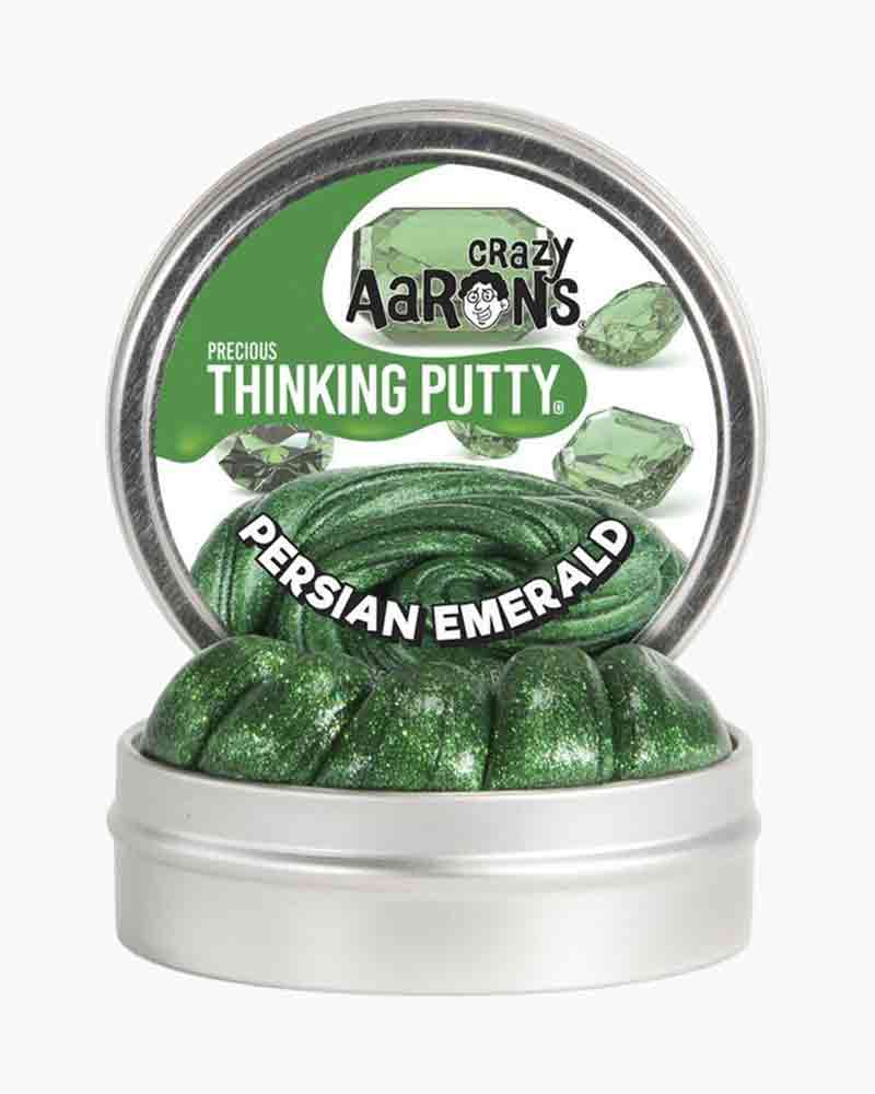 Crazy Aaron Persian Emerald Precious Gems Thinking Putty