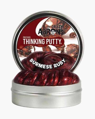 Burmese Ruby Precious Gems Thinking Putty