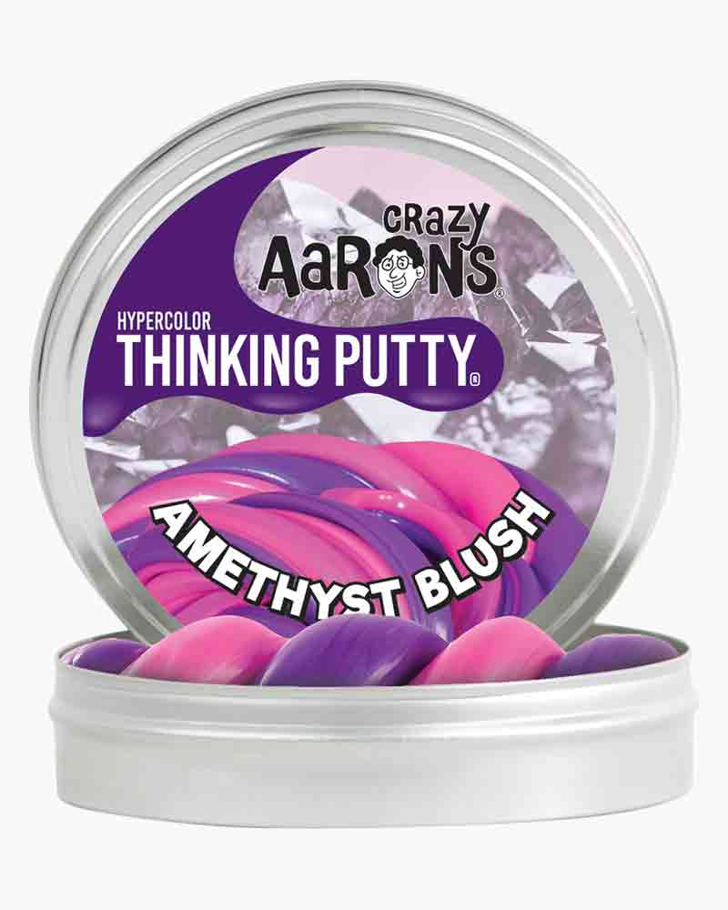Crazy Aaron Amethyst Blush Hypercolor Thinking Putty