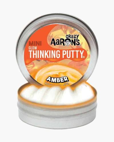 Mini Amber Glow Thinking Putty
