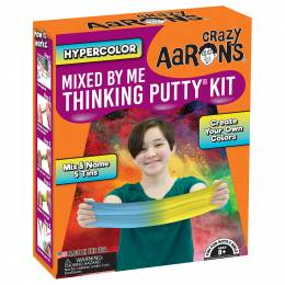 Crazy Aaron Mixed By Me Hypercolor Thinking Putty Kit