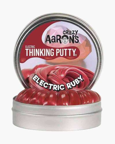 Mini Electric Ruby Thinking Putty