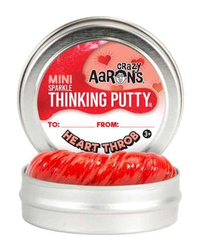 Mini Hearththrob Sparkling Thinking Putty