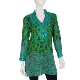 SOL Clothing Peacock Tunic