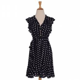 Papillon Polka Dot Dress