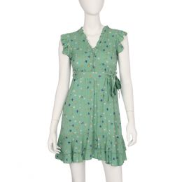 Papillon Bird Tie Belt Dress
