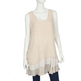 Papillon Layered Sleeveless Tunic