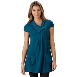 Papillon Cap-Sleeve Tunic