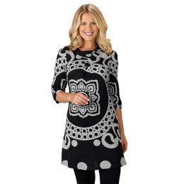 Papillon Medallion Tunic