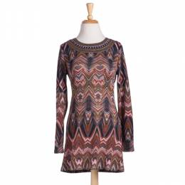 Papillon Multicolor Print Tunic