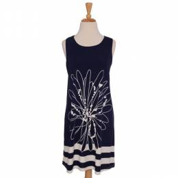 Papillon Navy Flower Tunic