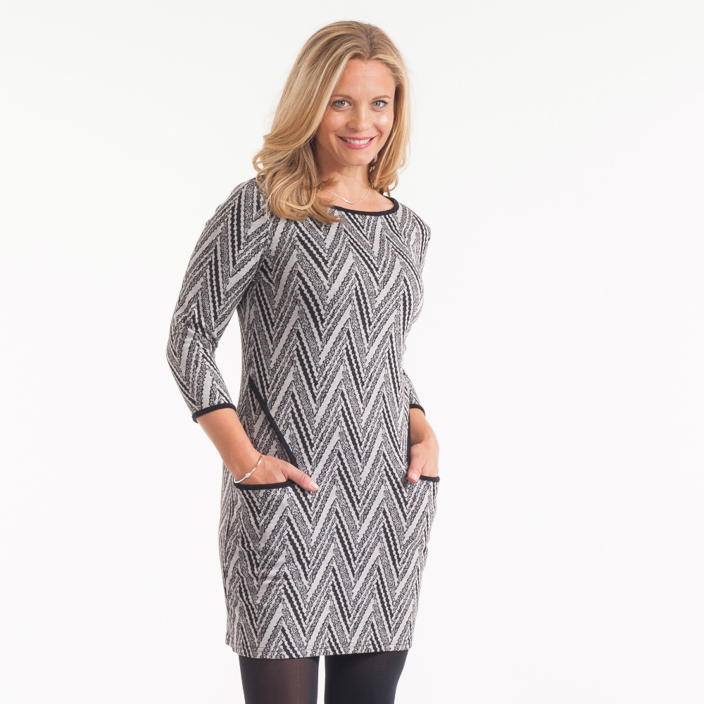 Papillon Chevron Dress