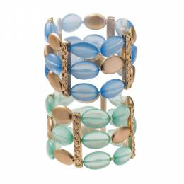 The Paper Store Sea Glass Stretch Bracelet