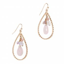 Mia and Tess Teardrop Charm Earrings