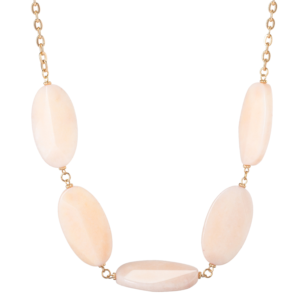Mia and Tess Stone Statement Necklace