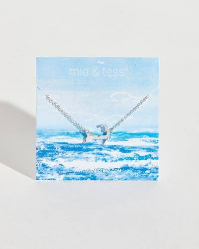 Exclusive Silver Cape Cod Charm Necklace