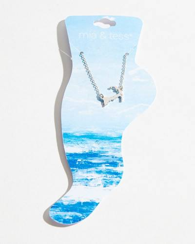 Exclusive Silver Cape Cod Charm Anklet