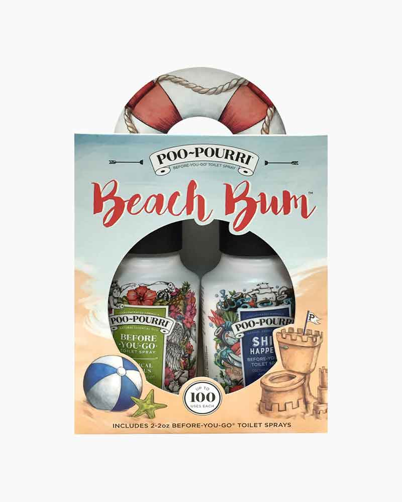 Poo~Pourri Beach Bum Poo-Pourri Gift Set