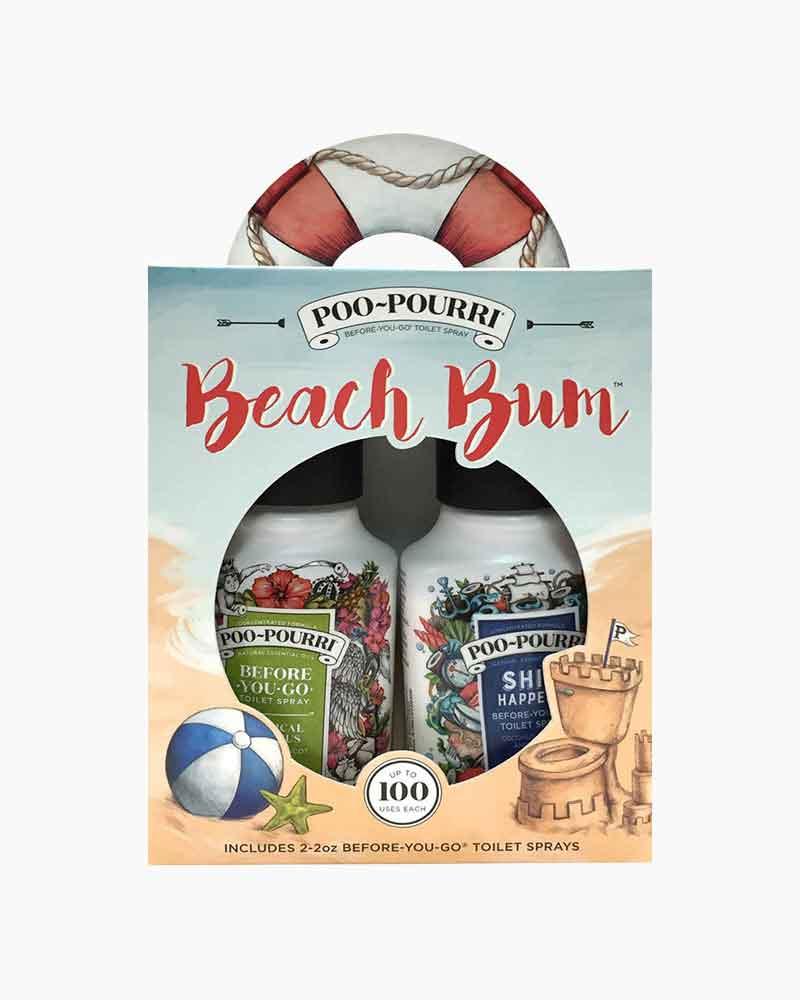 Poo~Pourri Beach Bum Poo-Pourri Gift Set | The Paper Store
