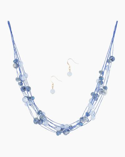 Beaded Illusion Necklace