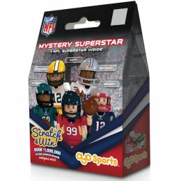 OYO Sportstoys NFL Superstar OYO Minifigure Mystery Pack with Scratch and Win