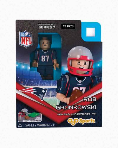 New England Patriots Rob Gronkowski Mini Figure