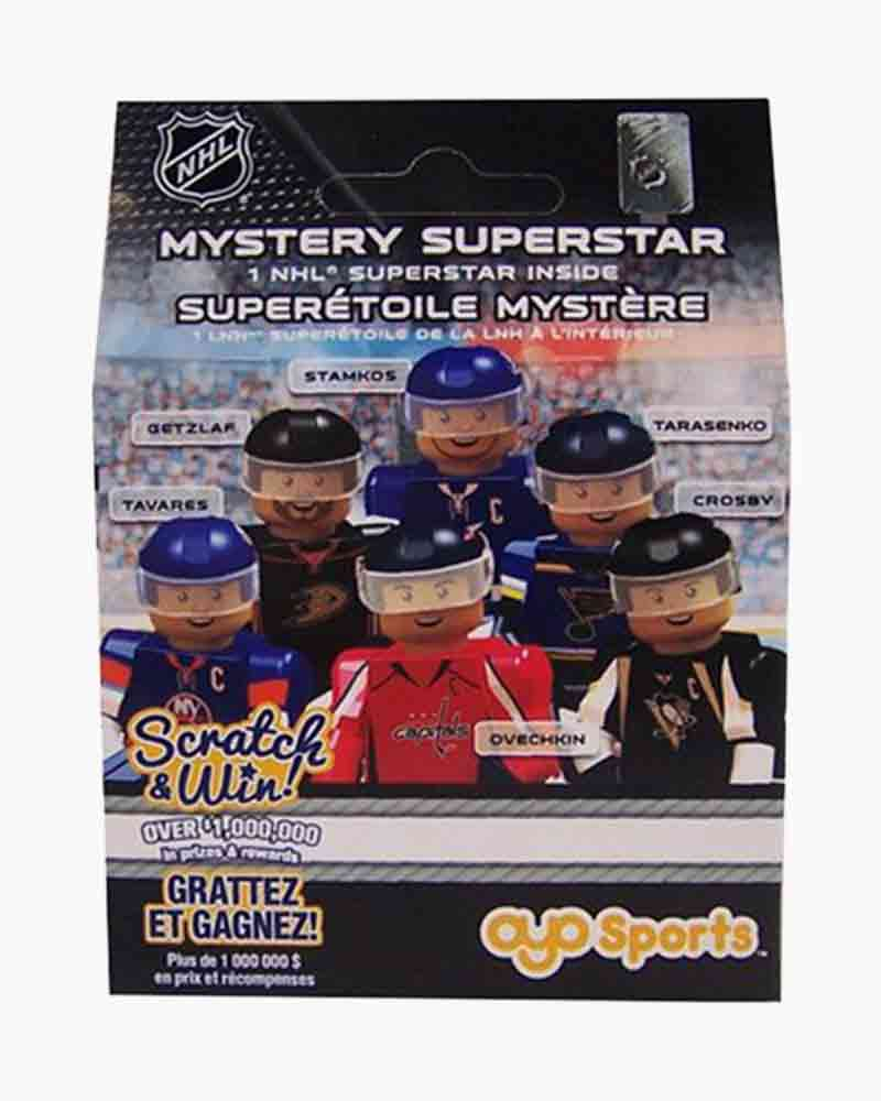 OYO Sportstoys NHL Superstar OYO Minifigure Mystery Pack with Scratch and Win