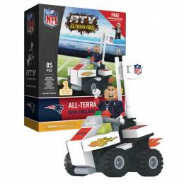 OYO Sportstoys New England Patriots ATV with Mascot Minifigure