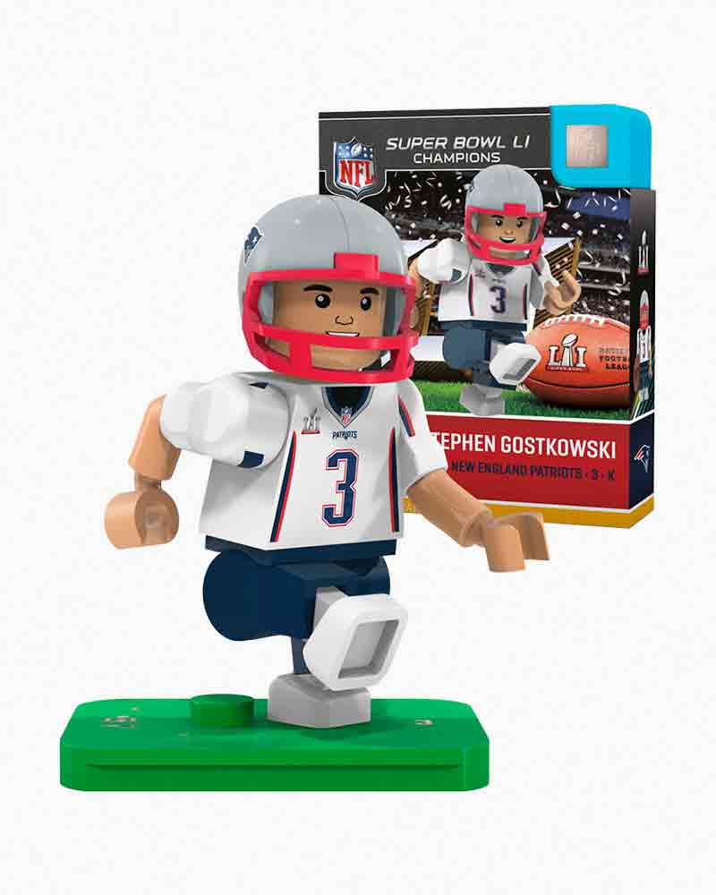 OYO Sportstoys New England Patriots Super Bowl LI Stephen Gostkowski Minifigure