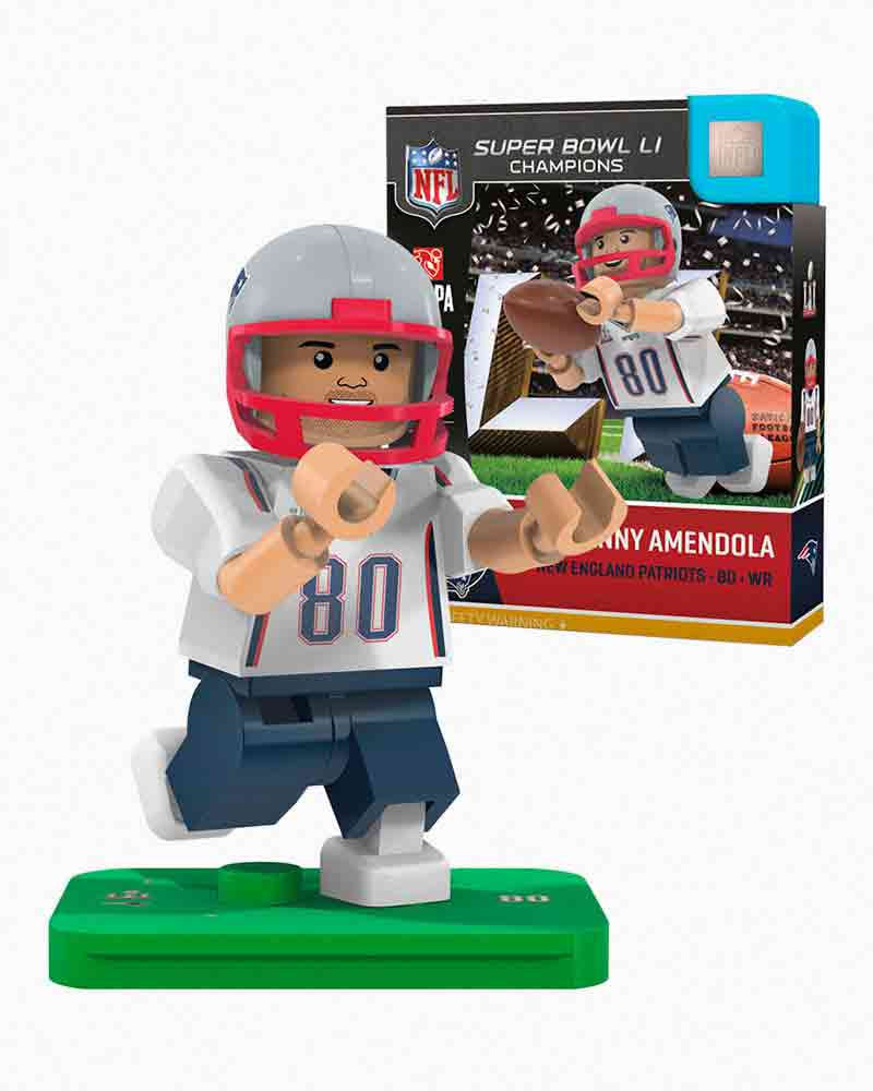 OYO Sportstoys New England Patriots Super Bowl LI Danny Amendola Minifigure