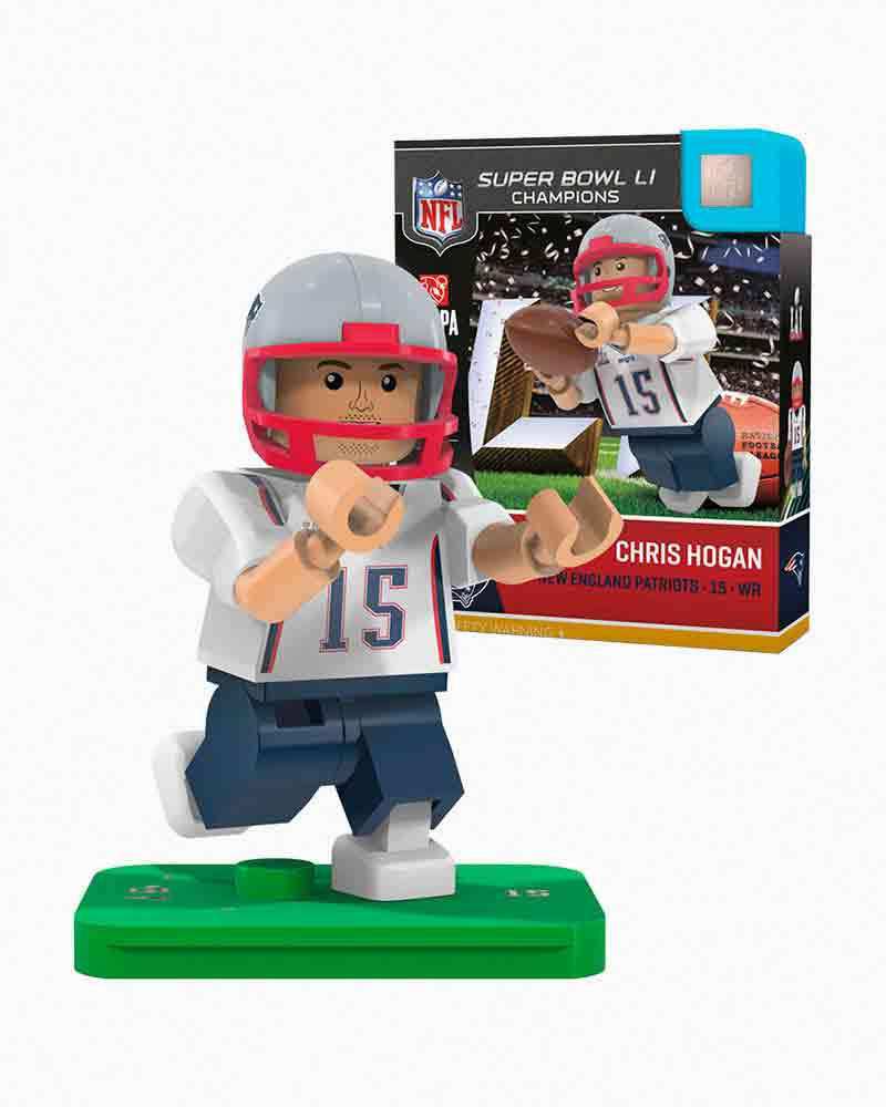 OYO Sportstoys New England Patriots Super Bowl LI Chris Hogan Minifigure