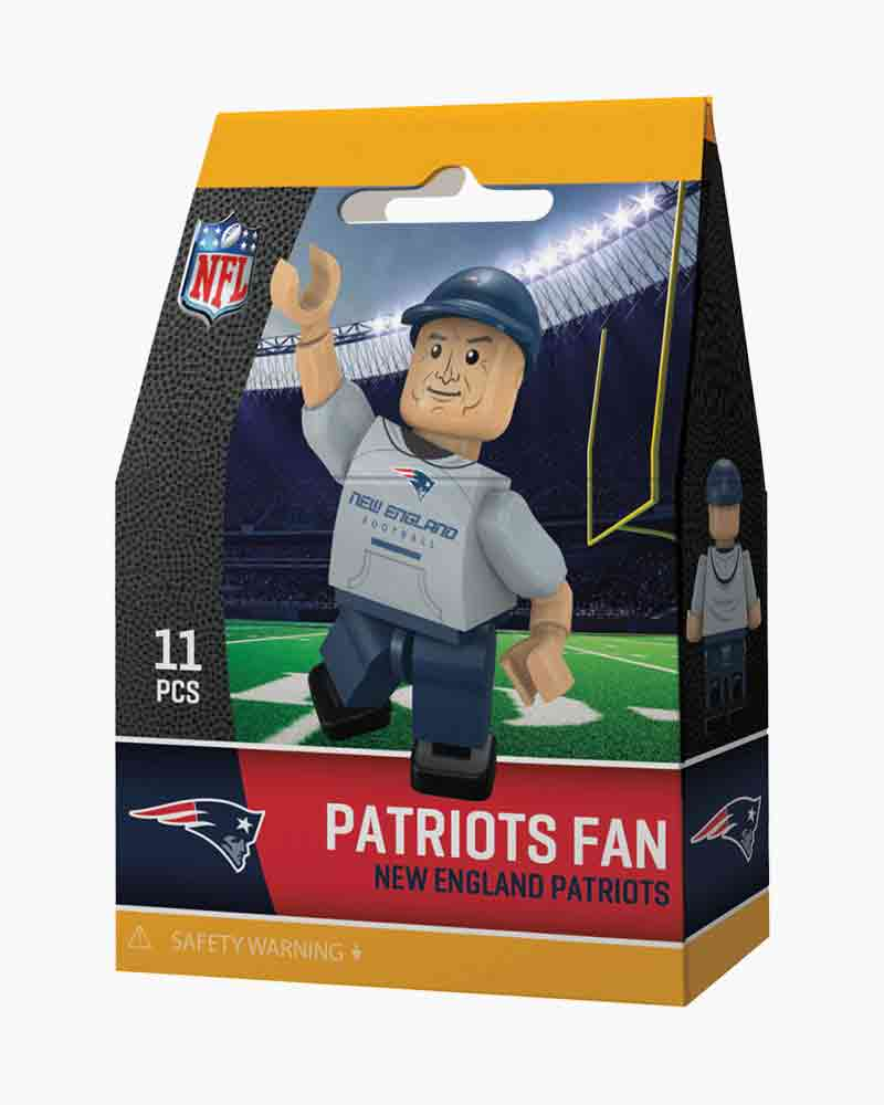 OYO Sportstoys New England Patriots Fan Minifigure
