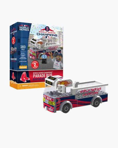 Boston Red Sox 2018 World Series Champions Parade Bus Building Set
