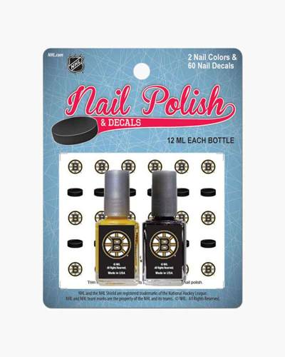 Boston Bruins Nail Polish Set