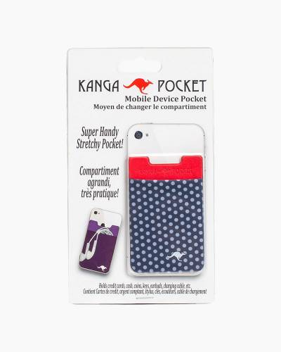 Kanga Cell Phone Pocket in Polka Dot