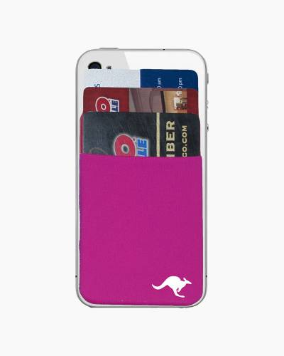 Kanga Cell Phone Pocket in Pink