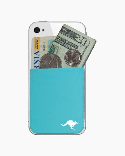 Kanga Cell Phone Pocket in Teal
