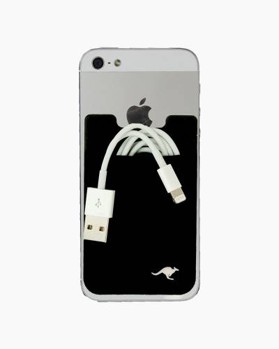 Kanga Cell Phone Pocket in Black