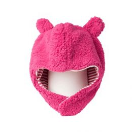 Magnificent Baby Smart Fleece Hat - Raspberry