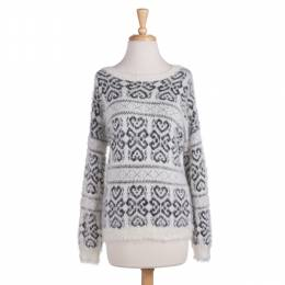 Star of India Folksy Long Sleeve Sweater