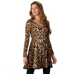 Cecico Leopard Print Dress