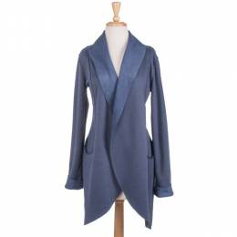 Cecico Blue Velvet Jacket