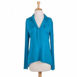 Cecico Rolled Sleeve Henley Top